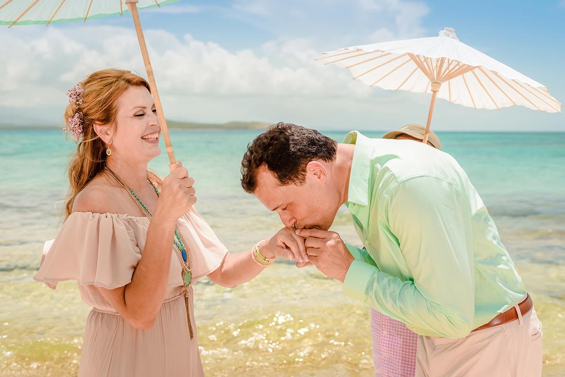 Olga & Javier 20th wedding anniversary-En altamar- Cayo Icacos-Fajardo-116