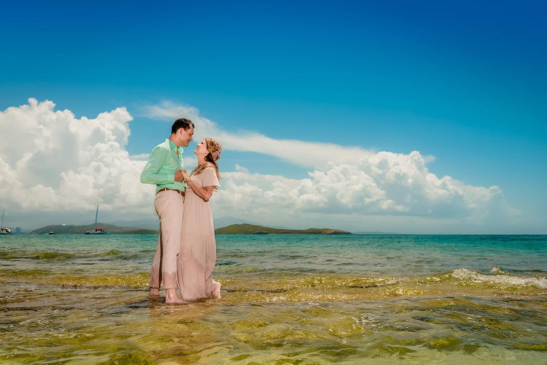 Olga & Javier 20th wedding anniversary-En altamar- Cayo Icacos-Fajardo-157