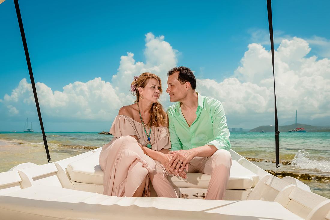 Olga & Javier 20th wedding anniversary-En altamar- Cayo Icacos-Fajardo-207